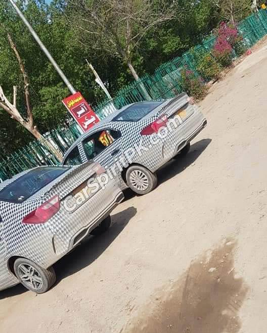 Proton Saga spotted in Pakistan, new 1,299 cc engine, CKD in 2021 02