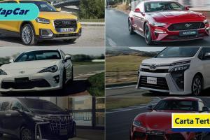 """Carta Tertinggi: 6 kenderaan yang lebih baik dibeli """"recond"""" berbanding pengedar rasmi"""