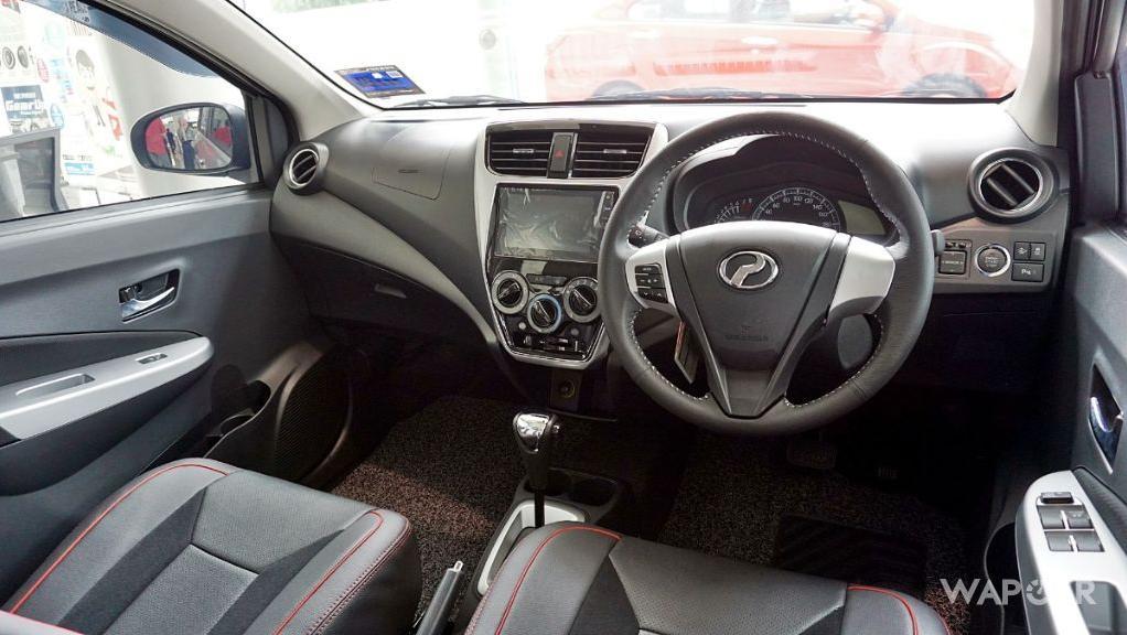 2019 Perodua Axia AV 1.0 AT Interior 041