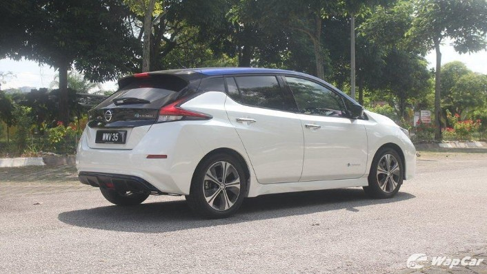 2019 Nissan Leaf Exterior 005