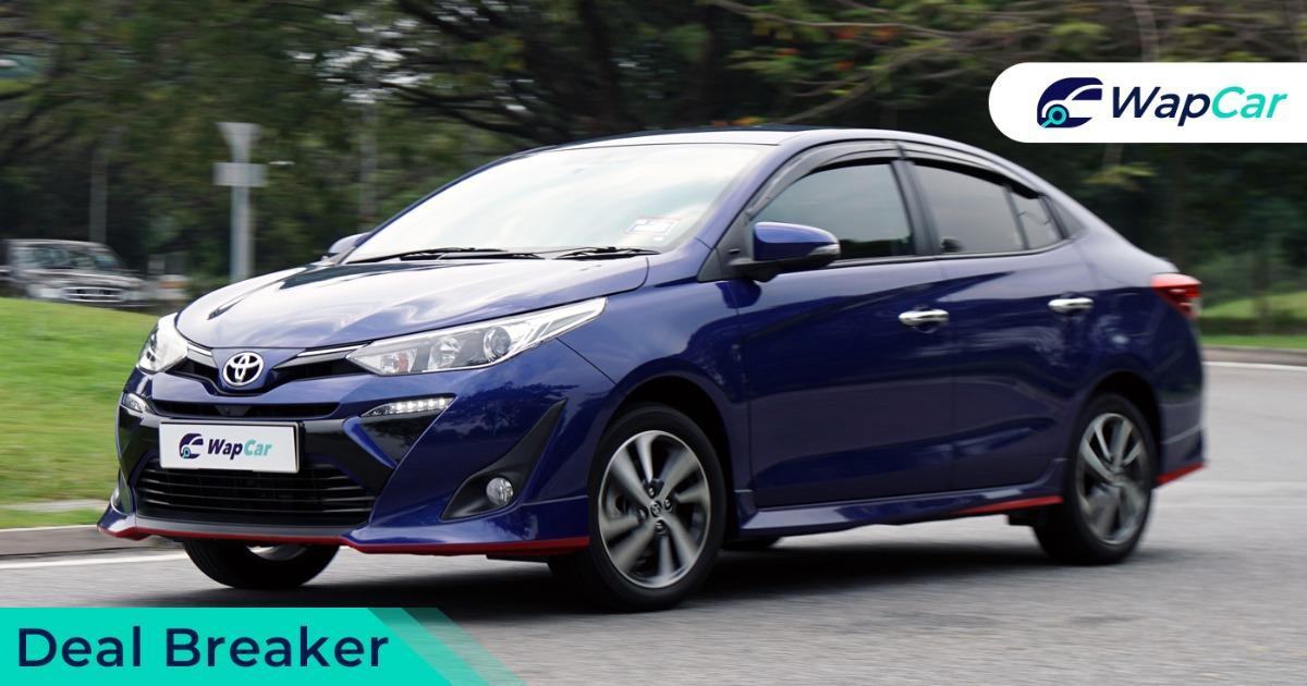 2018 Toyota Vios deal breaker bsm beep
