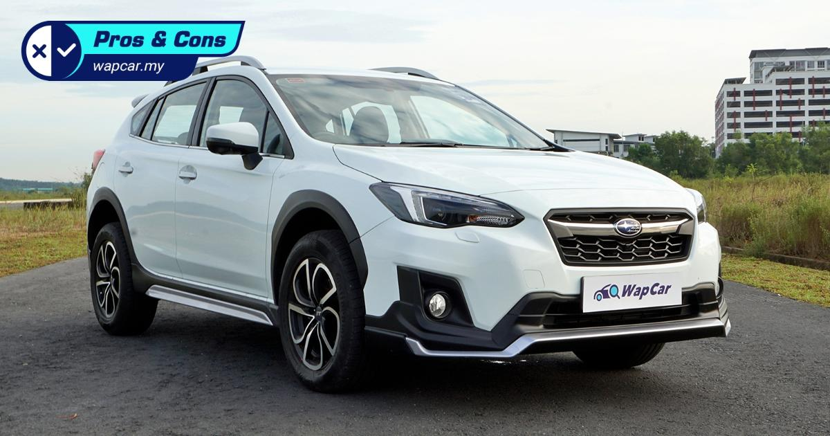 Pros and Cons: Subaru XV – Love the AWD traction but not the shallow boot 01