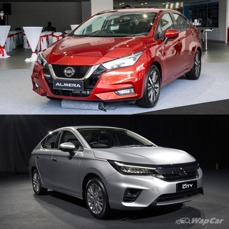 All-new 2020 Nissan Almera vs Honda City – Which B-segment sedan to get? 02