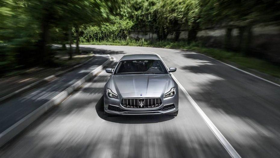 Maserati Quattroporte (2018) Exterior 003