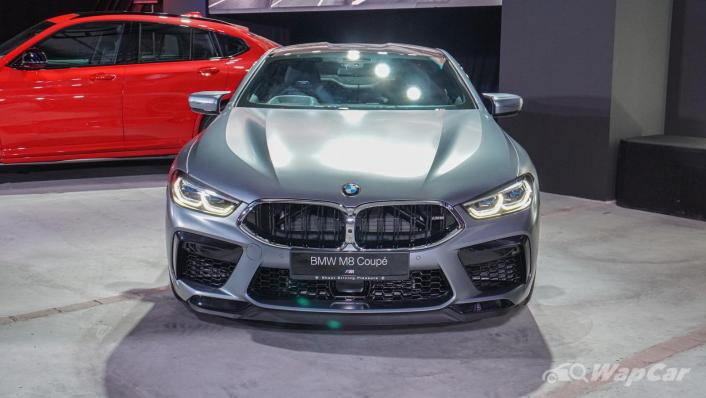 2020 BMW M850i xDrive Coupe Exterior 001