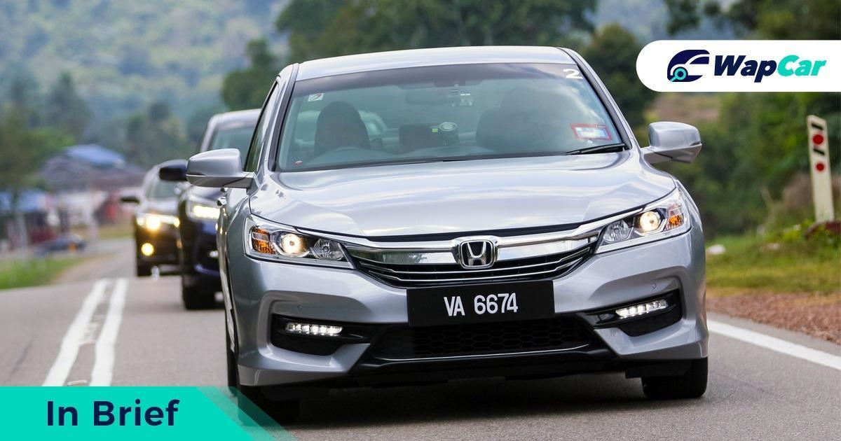 Honda Accord front