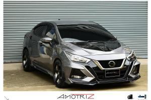 Kit badan LUMGA untuk Nissan Almera 2020 – agresif macam Civic Type-R!