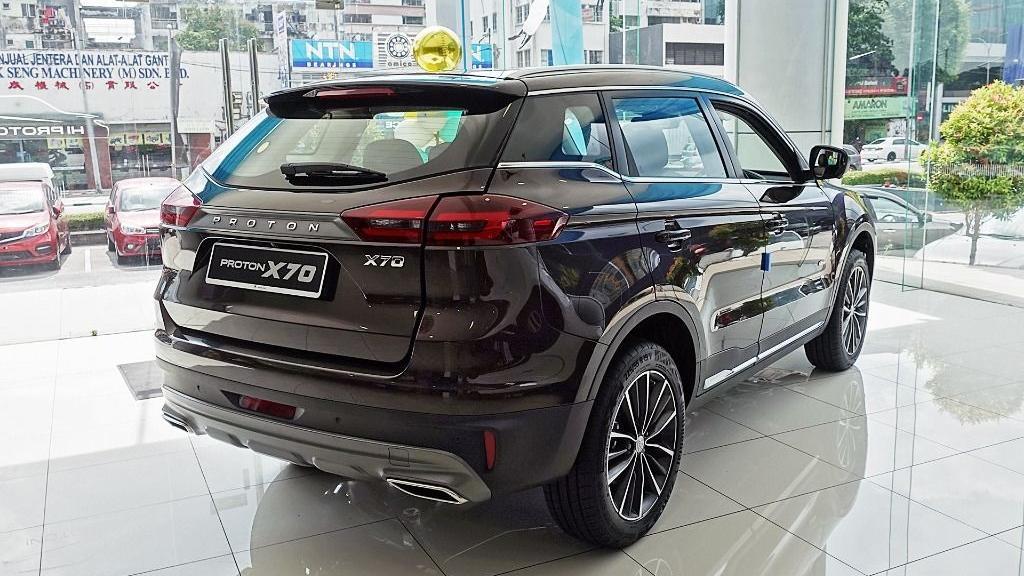2018 Proton X70 1.8 TGDI Premium 2WD Exterior 005