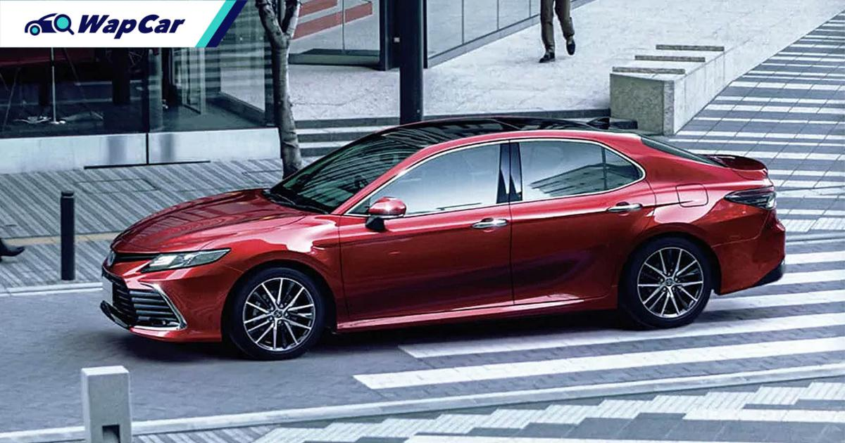 New 2021 Toyota Camry facelift launched in Japan: 10 variants, improved TSS ADAS 01