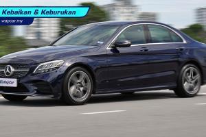 Kebaikan & Keburukan: Mercedes-Benz C200 AMG Line 2020 – pemanduan yang 'hambar'?