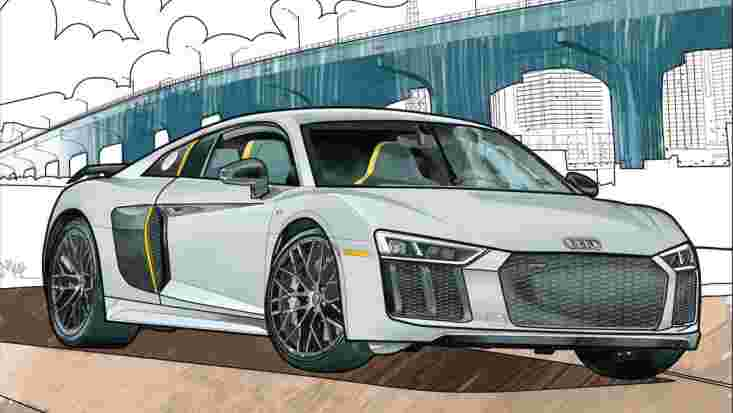 Audi, Mercedes-Benz and more helps with babysitting duties by introducing colouring books!
