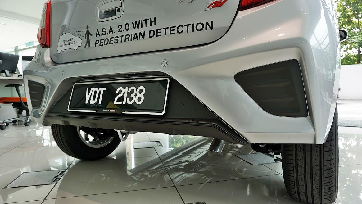 2019 Perodua Axia AV 1.0 AT Exterior 048