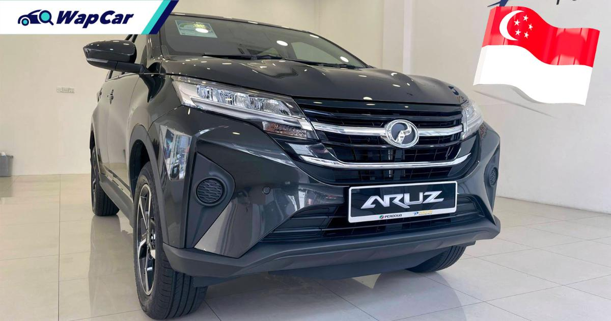 Priced from RM 286k, Perodua Aruz launched in Singapore 01