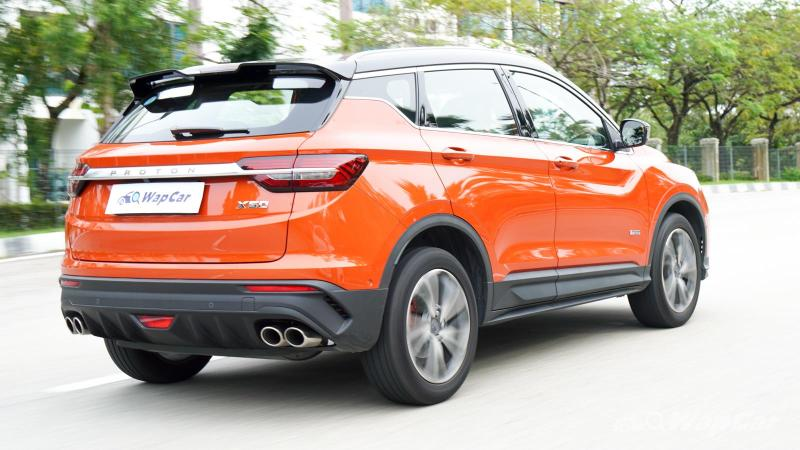 What's the Proton X50's tested fuel consumption? 02
