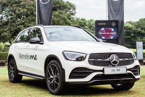 SUVs now account for 41 percent of Mercedes-Benz global sales, GLC most popular