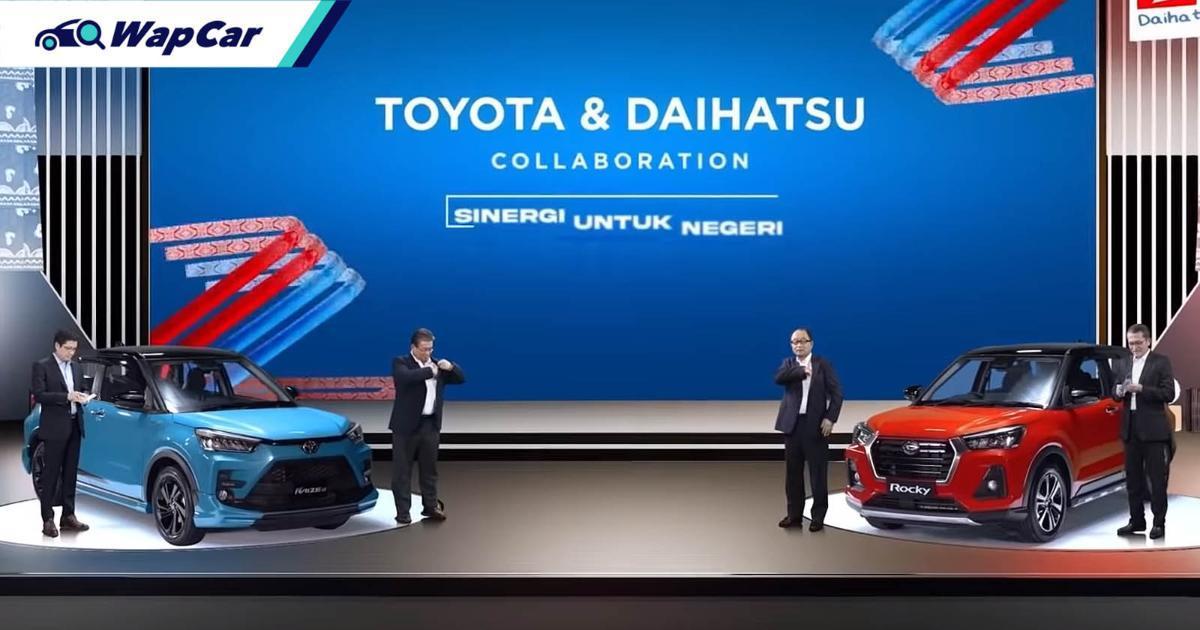 Kembar Ativa; Daihatsu Rocky dan Toyota Raize akan dilancarkan di Indonesia hari ini! 01