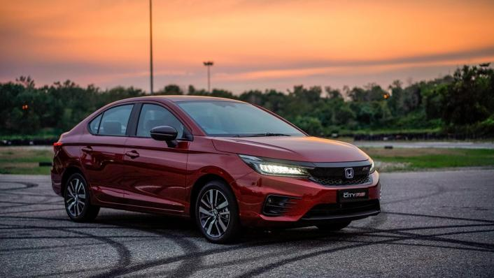 2020 Honda City RS 1.5 Hybrid Exterior 005