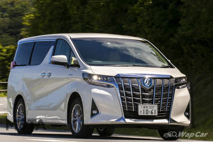 2020's top 10 most popular cars in Japan, Toyota Alphard ...