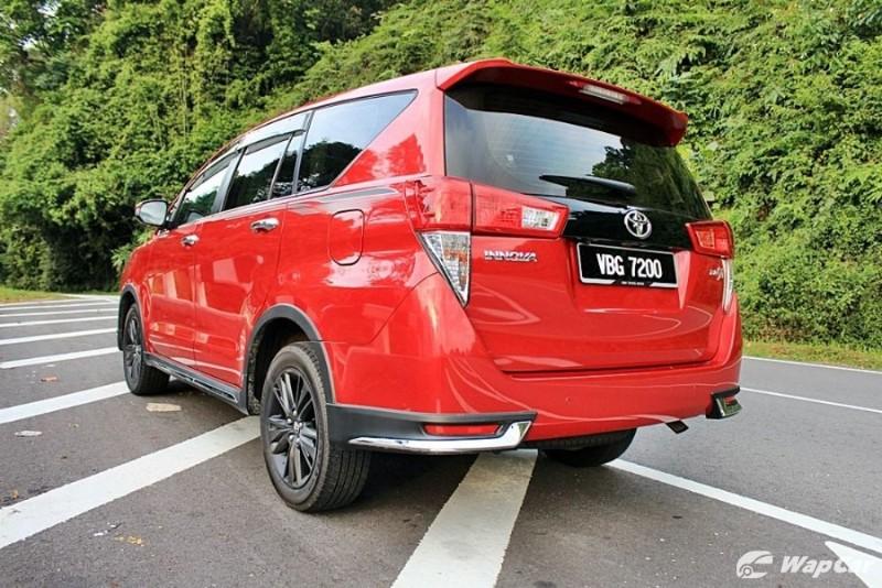 Ringkasan: Toyota Innova jadi pilihan bila sendu tak mampu beli Alphard 02
