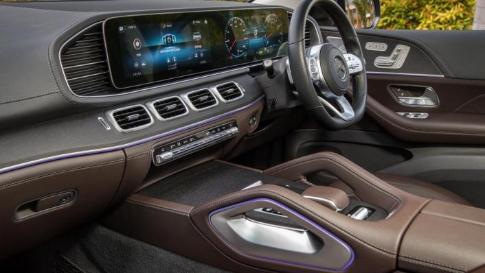 2020 Mercedes-Benz GLS 450 4Matic Interior 005
