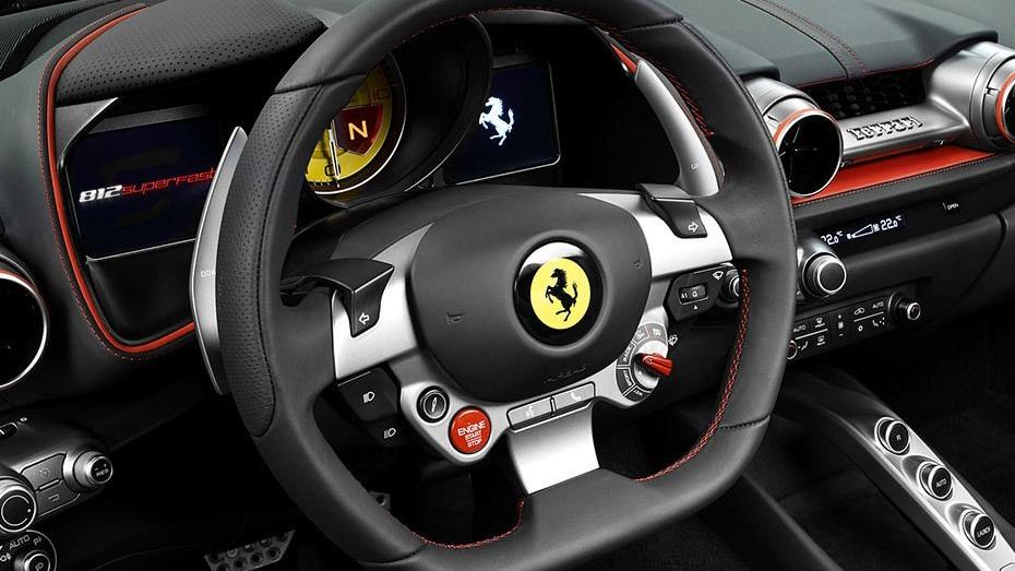 Ferrari 812 Superfast (2017) Interior 002