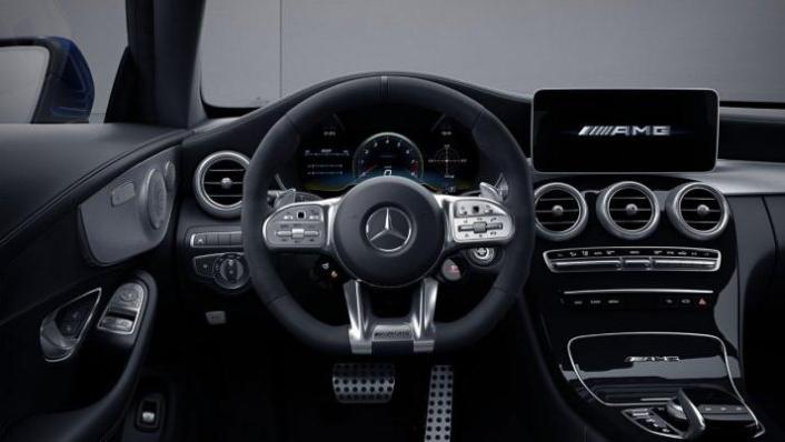 2018 Mercedes-Benz AMG C-Class Coupe C 63 S Interior 001