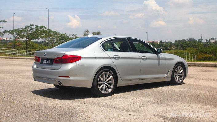2019 BMW 5 Series 520i Luxury Exterior 005