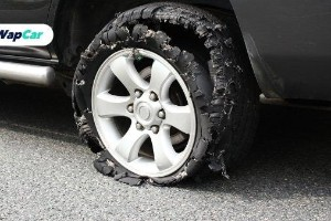 Tyre blowout while driving: This is how you maintain control and avoid crashing