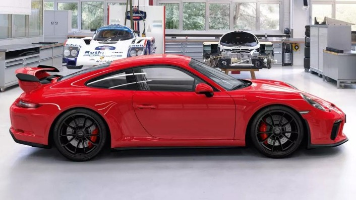2019 Porsche 911 911 GT3 Exterior 004