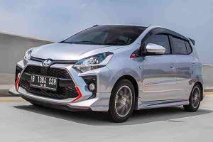 Check out Perodua Axia's Indo cousin, the Toyota Agya TRD