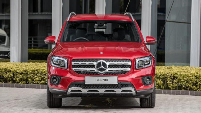 2020 Mercedes-Benz GLB 200 Progressive Line Exterior 001
