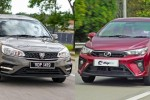 Which is cheaper to maintain over a 5-year period, the Proton Saga or Perodua Bezza?