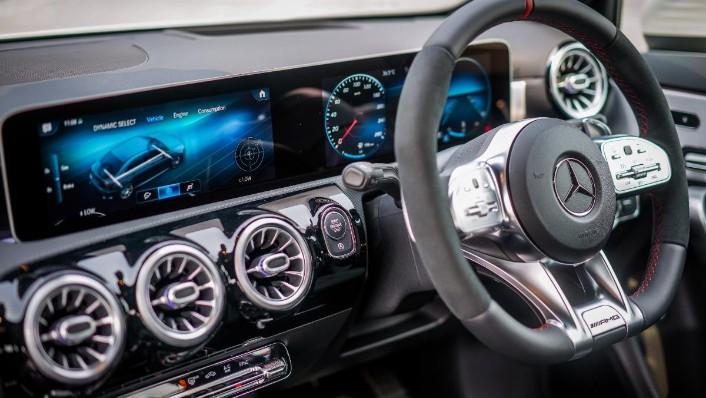 2019 Mercedes-Benz AMG A-Class A35 Interior 003