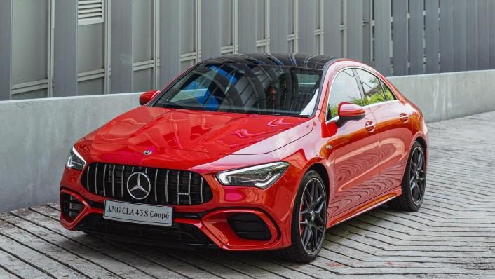 2020 Mercedes-Benz AMG CLA 45 S Exterior 005
