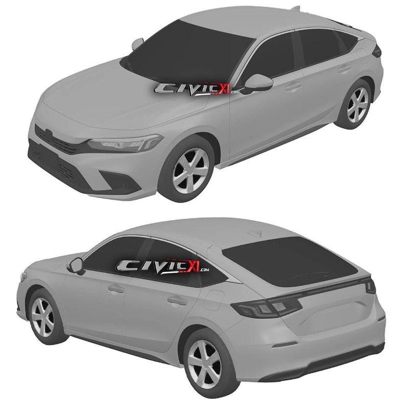 Intipan: 2022 Honda Civic generasi baru. Rekaan imej yang lebih matang? 02