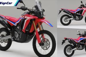 BSH lancar Honda CRF250 Rally 2021 di Malaysia, harga RM 27,599!