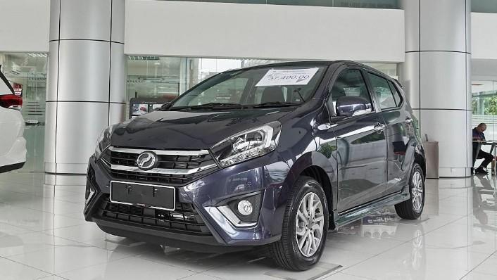 2018 Perodua Axia SE 1.0 AT Exterior 001