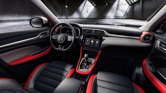 2020 MG ZS Upcoming Version Interior 001