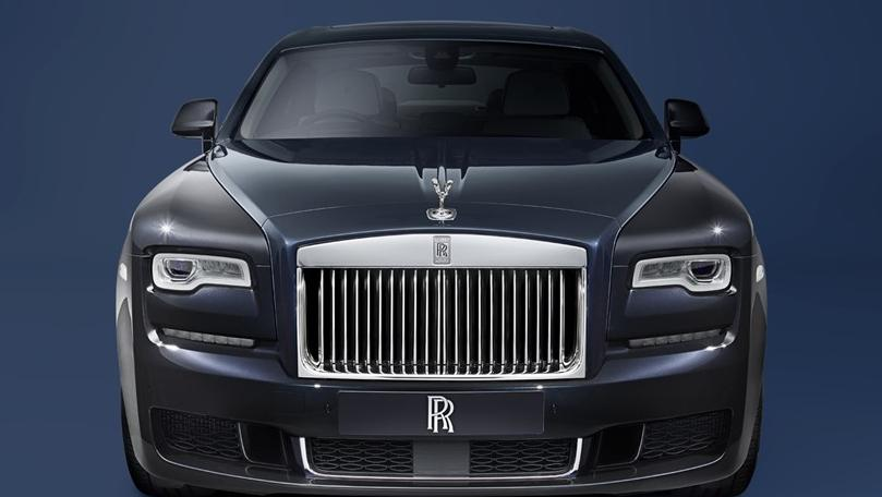 2011 Rolls-Royce Ghost Ghost Extended Wheelbase Exterior 002