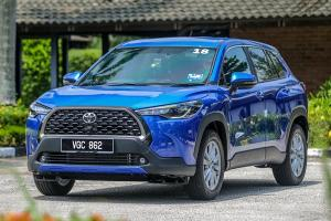 Without taxes, the 2021 Toyota Corolla Cross is cheaper than a fully loaded Proton X70