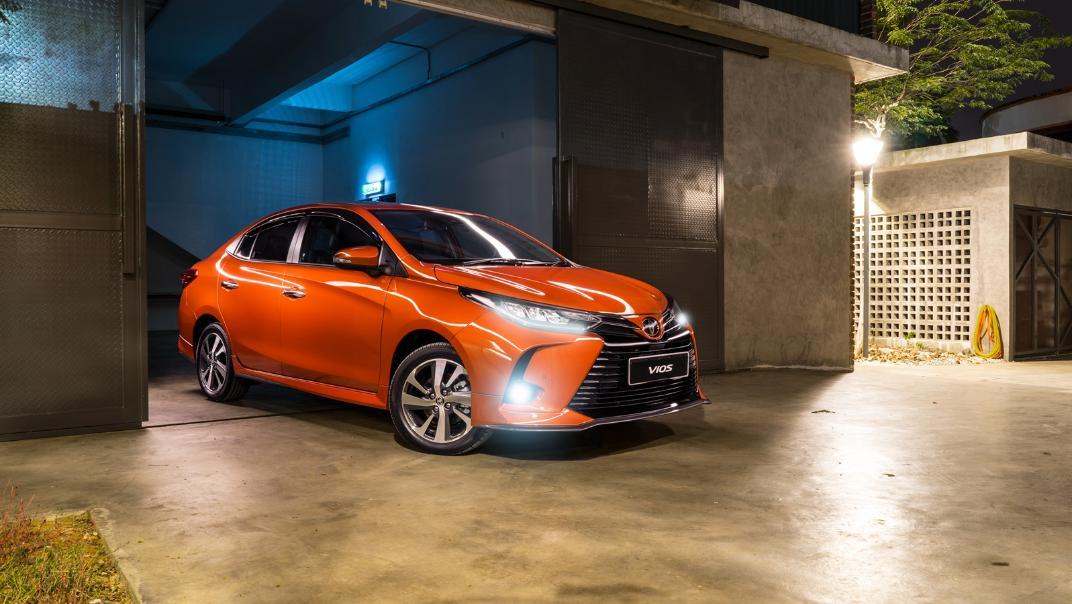 2021 Toyota Vios 1.5E Exterior 007
