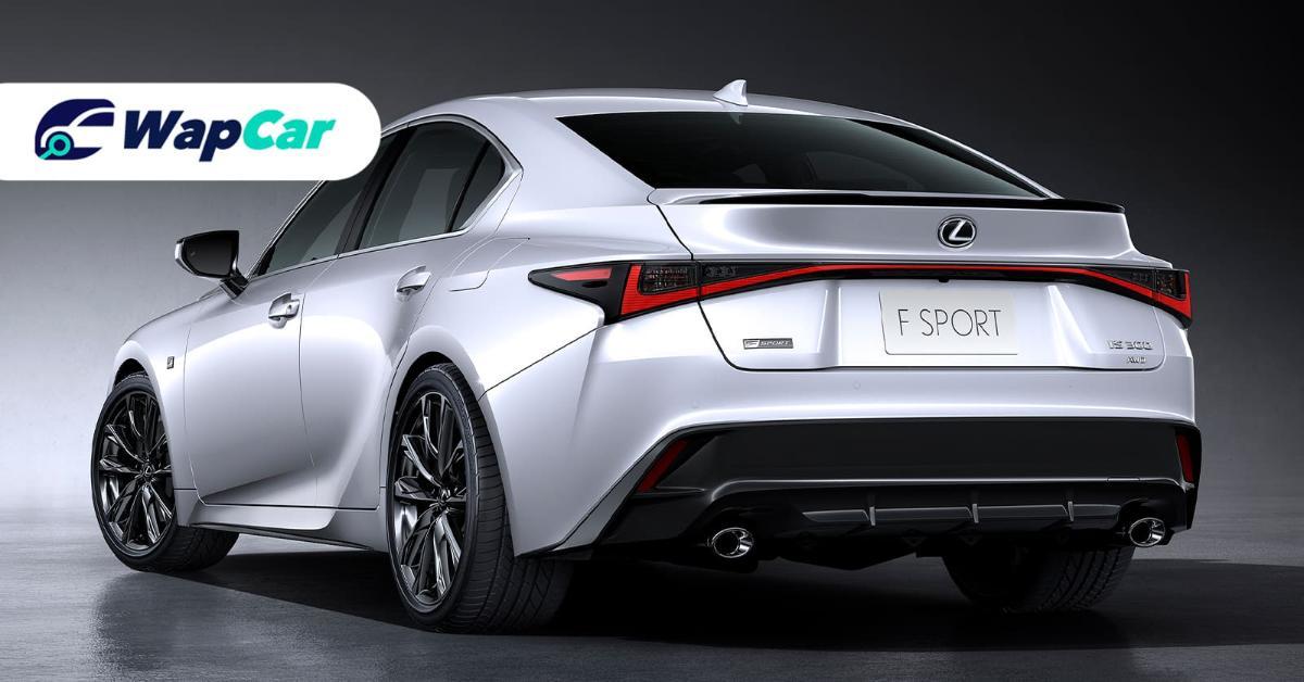 2020 Lexus IS 300 Exterior Rear