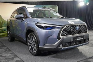 Live photos: 2020 Toyota Corolla Cross unveiled in Thailand