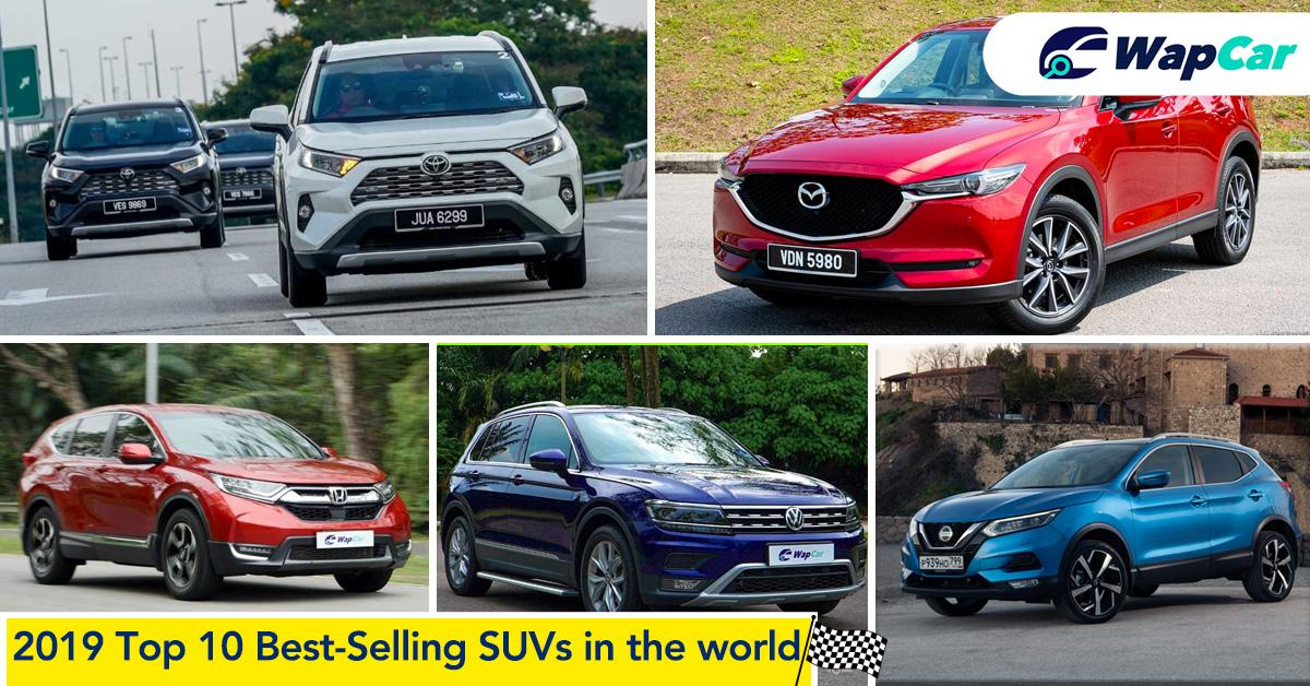 Top Rank: 2019's Top 10 best-selling SUVs in the world 01