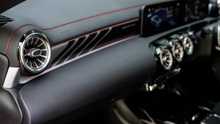 2020 Mercedes-Benz AMG CLA 45 S Interior 007