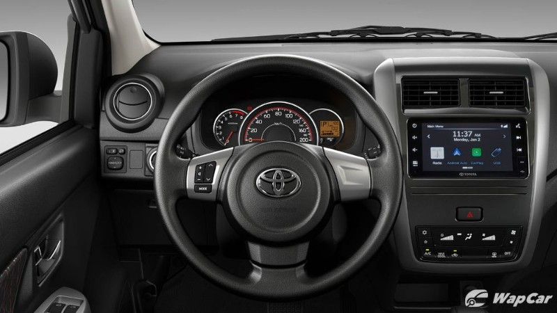 New Toyota Wigo launched, LHD Perodua Axia with Android Auto! 02