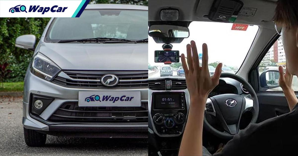 Watch this self-driving Perodua Axia handle the busy roads of KL! 01