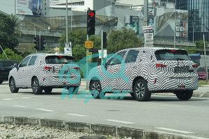 Spied: A pair of GAC Trumpchi GS3 Power testing in Klang – Is Malaysia first RHD market?
