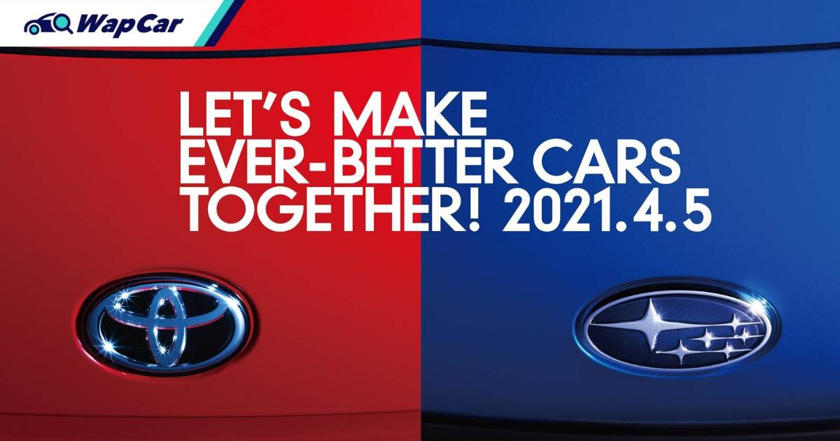 Toyota, Subaru to announce new model on 5-Apr – Toyota GR 86 or Toyo-baru SUV? 01