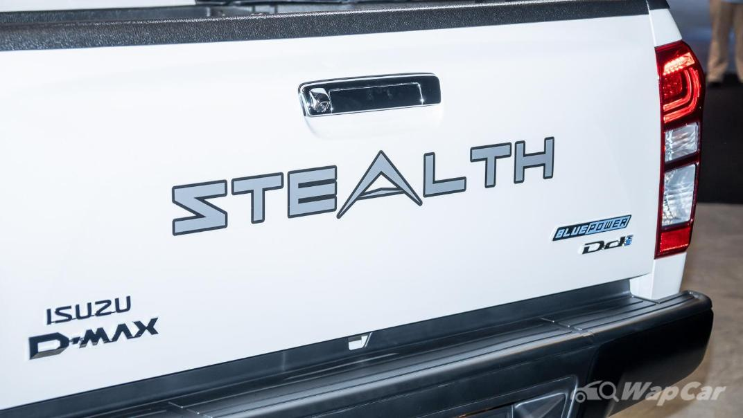 2020 Isuzu D-Max Stealth 1.9L 4×4 AT Exterior 021